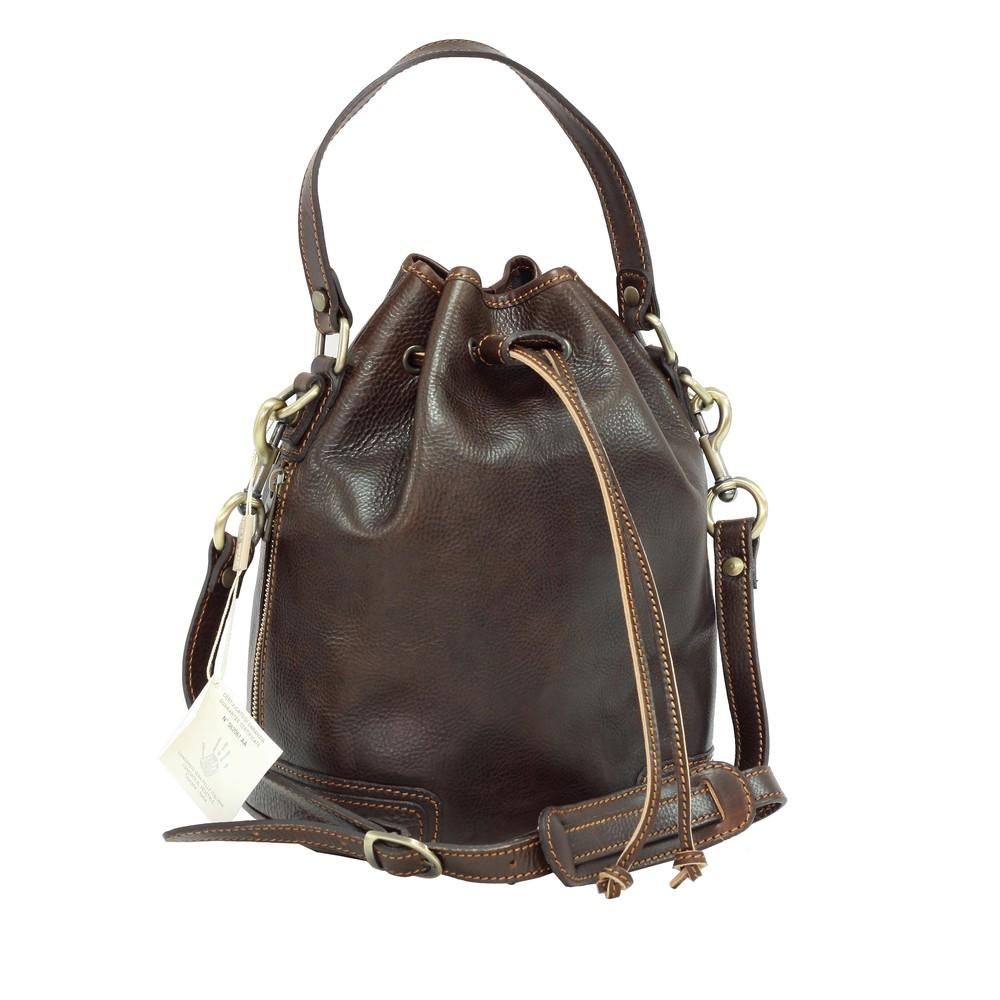 "Geanta/sac de dama casual din piele naturala vachetta ""superior"" N4535B"