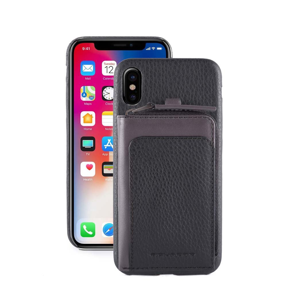 Husa piele iphone 8 / X / mini portofel detasabil