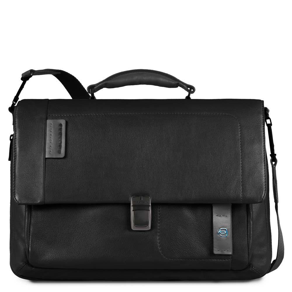 "Geanta extensibila port laptop 15"" si iPad®10,5''/9,7"" Piquadro din piele naturala CA3111P15/N"