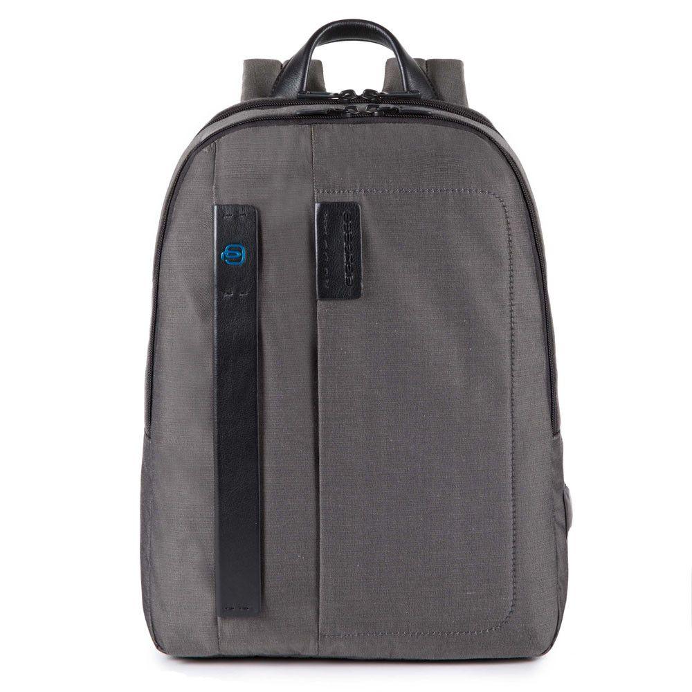 "Rucsac Piquadro port laptop 14''/iPad®11''/9,7"" din tesut si piele naturala CA3869P16/CLASSY"