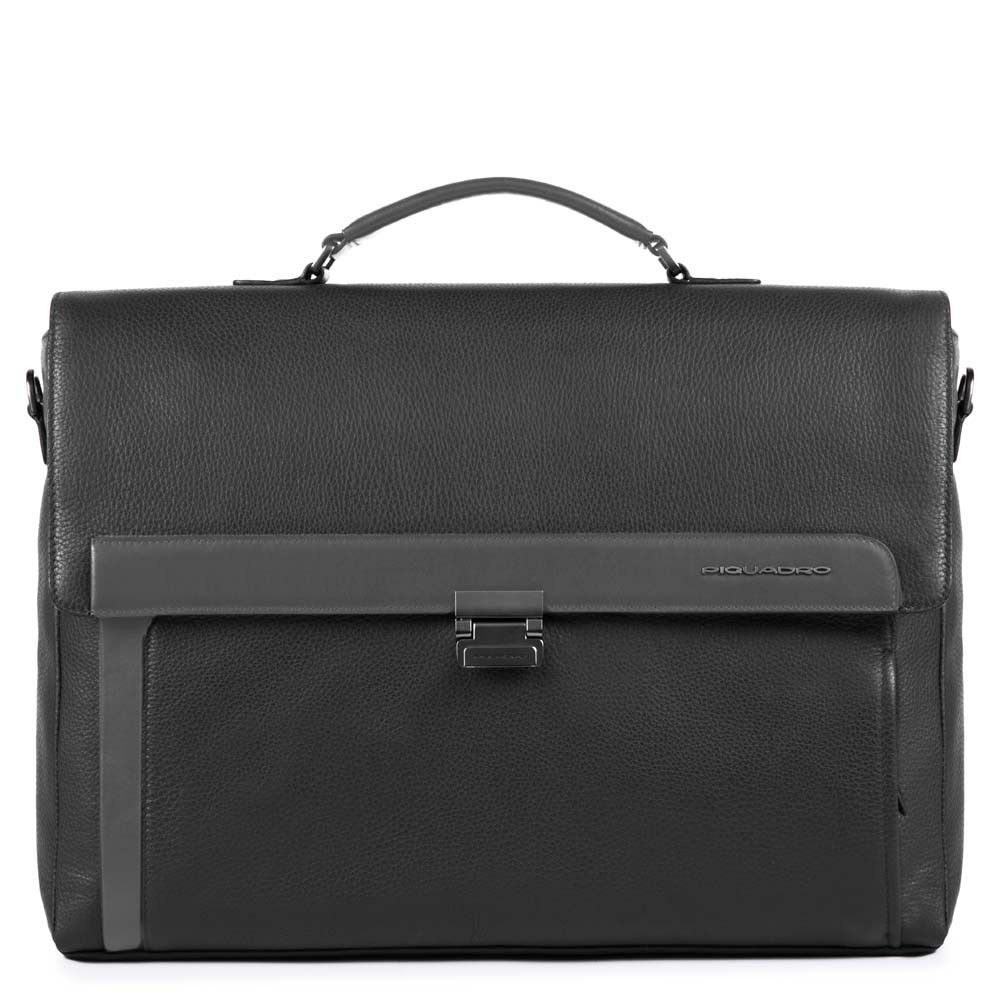 "Geanta port laptop 15,6"" si iPad®10,5''/9,7"" Piquadro din piele naturala CA4606S97/N"