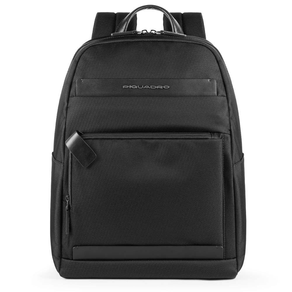 "Rucsac Piquadro port laptop 11''/iPad®11''/9,7"" din tesut si piele naturala CA4624S100/N"