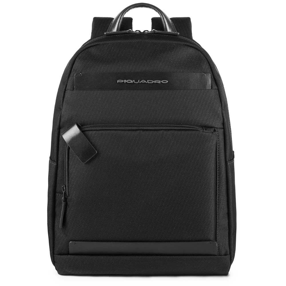 "Rucsac Piquadro port laptop 11''/iPad®11''/9,7"" din tesut si piele naturala CA4625S100/N"