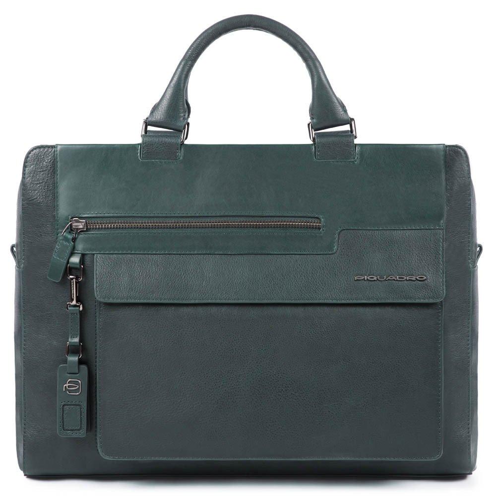 "Geanta port laptop 14"" si iPad®10,5''/9,7"" Piquadro din piele naturala CA4784W95/VE"
