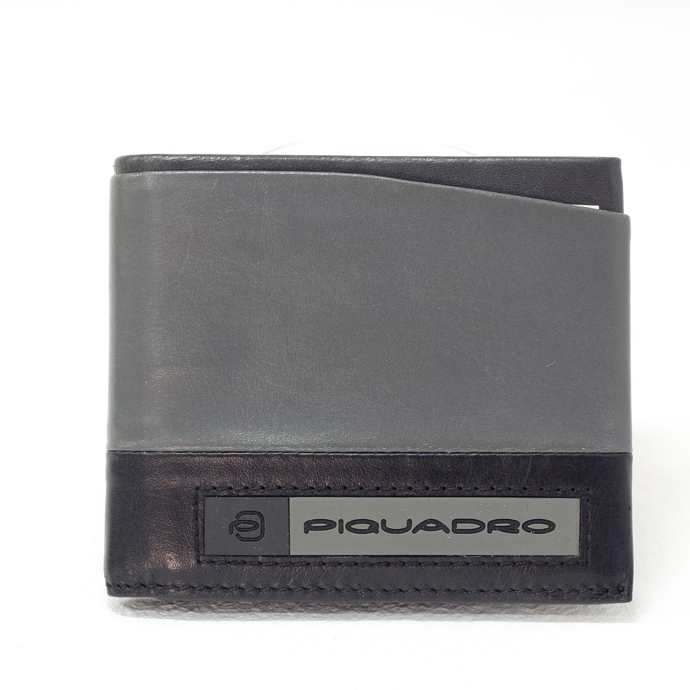 Portofel pentru barbati Piquadro cu protectie RFID din piele naturala PU5189W105R/GR