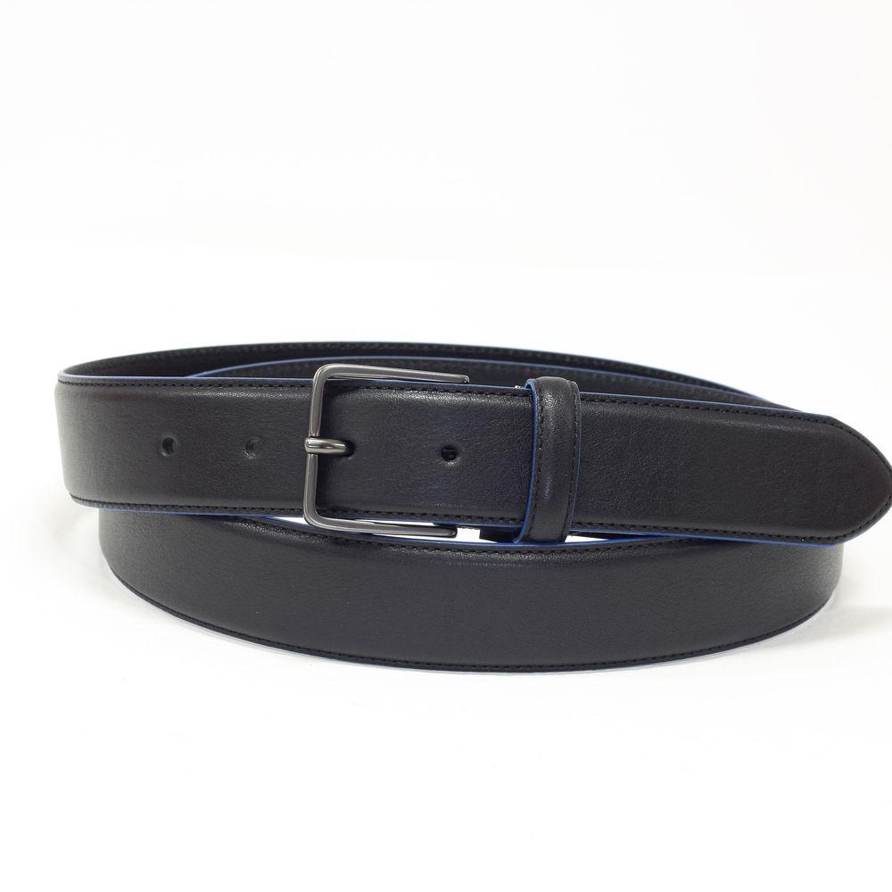 Curea eleganta, neagra, din piele naturala PIQUADRO CU4879