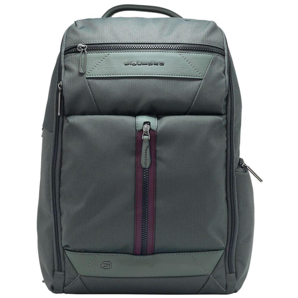 Rucsac PIQUADRO din tesut, port laptop 14'' / iapd 11'', port umbrela/sticla de apa, protectie RFID CA5524W109/VE