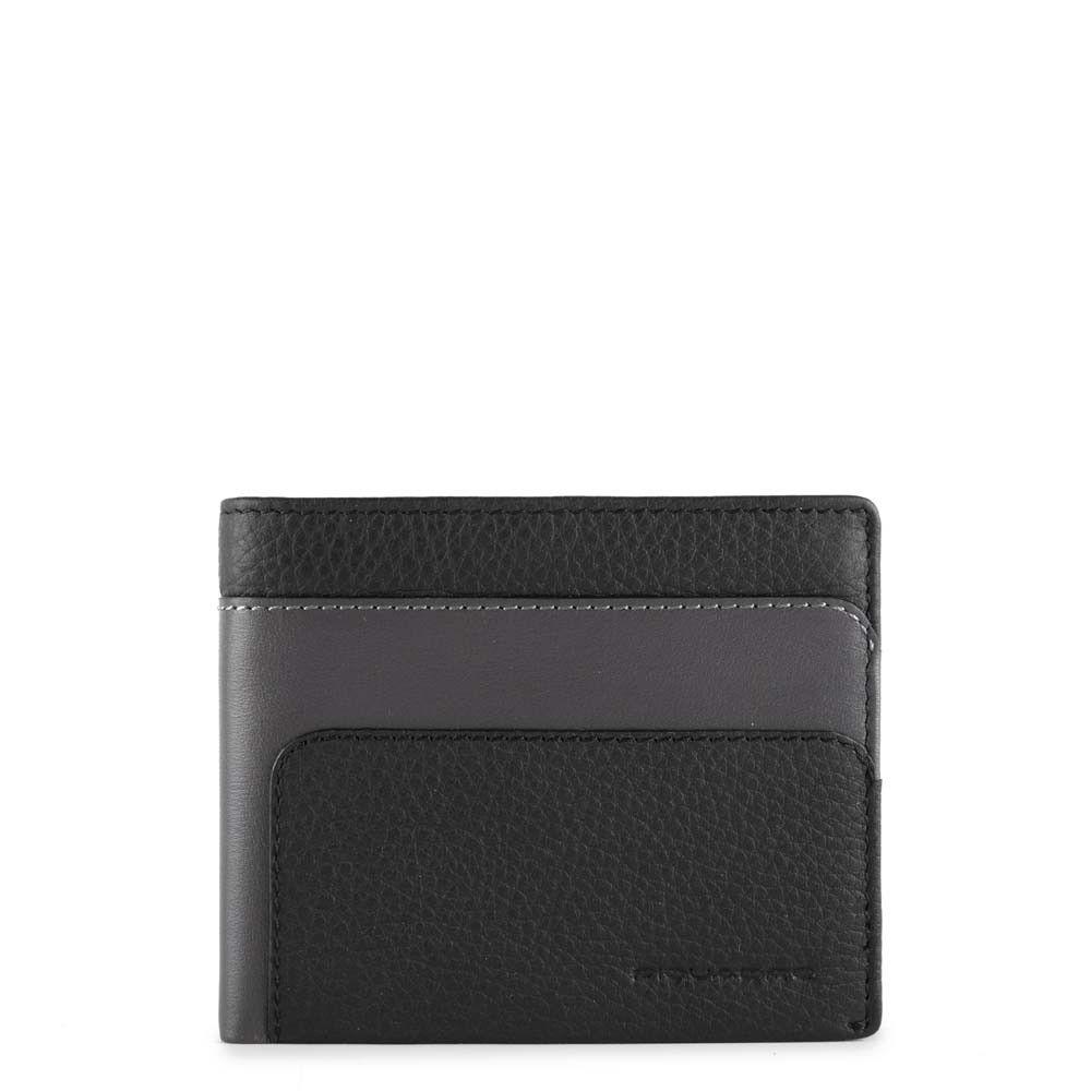 Portofel pentru barbati Piquadro cu protectie RFID din piele naturala PU4191S97R/N